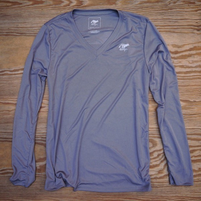 Runyon Canyon Apparel Women's Greystone Long Sleeve Training Shirt Performance Made In USA